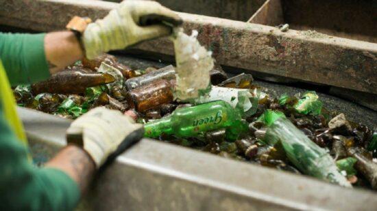 Reciclagem cresceu 9% em 2020