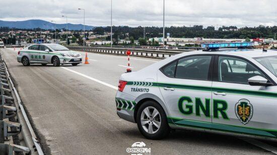 GNR deteve 291 pessoas em operações de combate à criminalidade e sinistralidade rodoviária