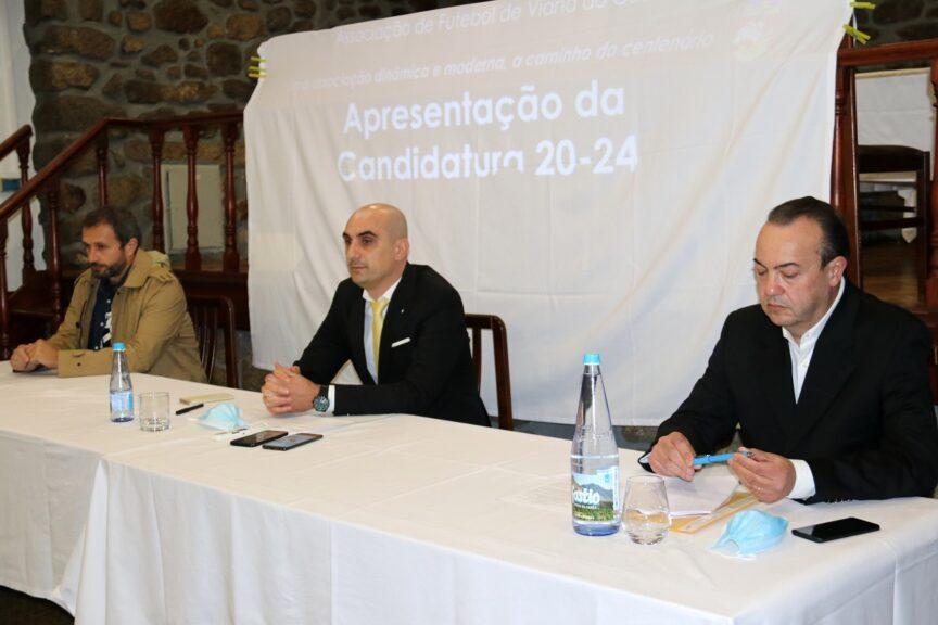 Rui Fernandes apresenta candidatura à Associação de Futebol de Viana do Castelo