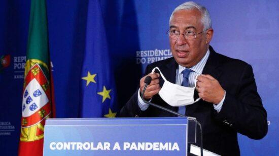"""António Costa: """"Não haverá adeptos nos estádios até final da época"""""""