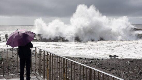 Viana do Castelo sob aviso amarelo devido à chuva, vento e agitação marítima