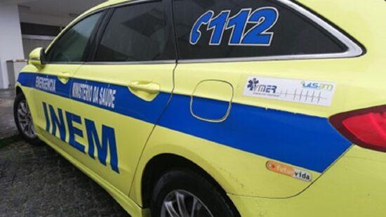 INEM recebeu menos chamadas de emergência em 2020 devido à pandemia