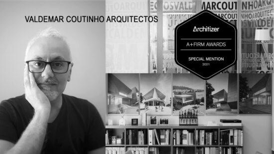 Viana do Castelo: Gabinete de arquitetura de Valdemar Coutinho distinguido na primeira edição dos prémios A+Firm