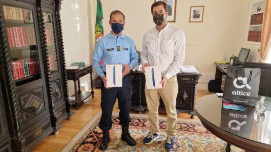 Altice entrega dispositivos em Viana do Castelo para combater isolamento social