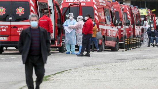 Covid-19: Sete mortos e mais 469 novos casos de infeção desde sexta-feira
