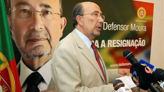 Defensor Moura publica livro sobre Eleições Presidenciais de 2011