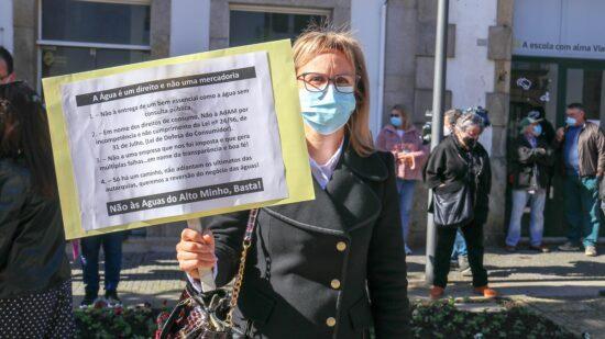 Manifestação pacífica de cidadãos contra as Águas do Alto Minho marcada para 25 de abril