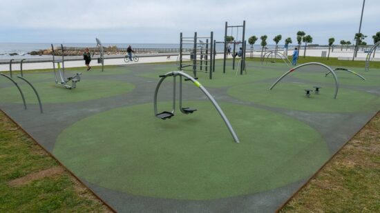 Viana do Castelo: Parque geriátrico da Praia Norte já disponível para utilização