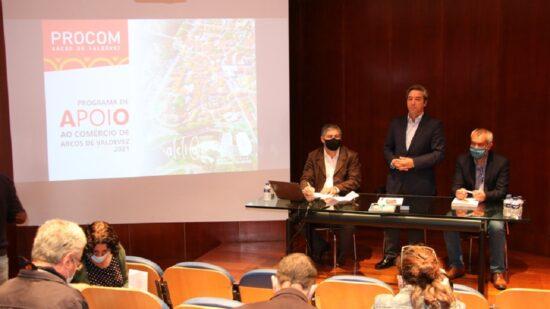 Câmara de Arcos de Valdevez abre 2ª edição do Programa de Apoio ao Comércio local