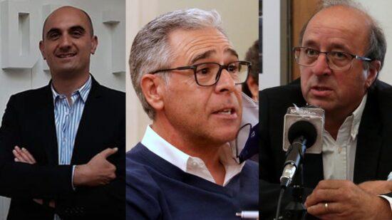 Rui Fernandes, António Amaral e Jorge Sárria são candidatos à liderança da Associação de Futebol de Viana do Castelo