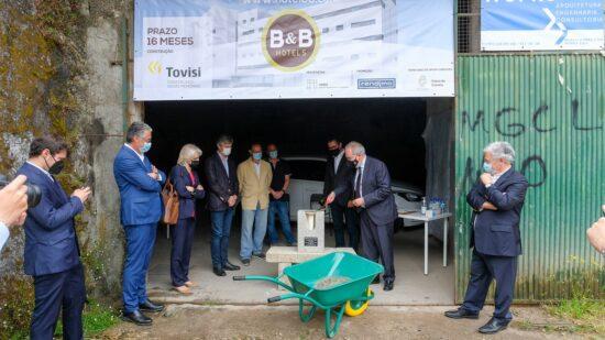 Grupo francês B&B Hotels iniciou construção de unidade hoteleira com 116 quartos em Viana do Castelo