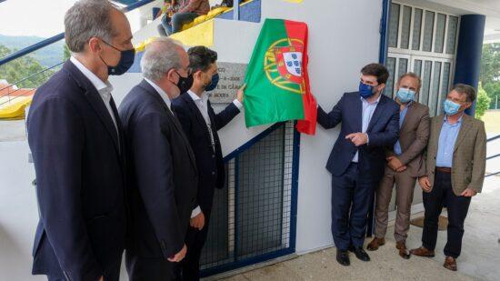 Ministro da Educação inaugurou requalificação das instalações da Associação Desportiva de Barroselas