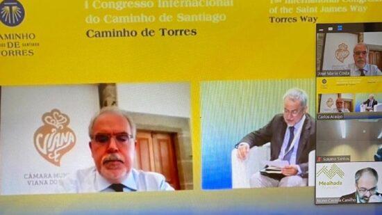 Viana do Castelo presente no I Congresso Internacional do Caminho de Santiago